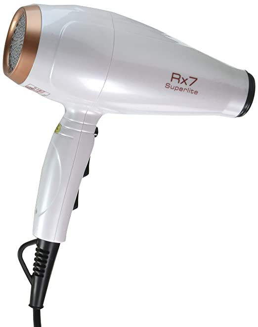 Amazon.com: RX7 Superlite Advanced Nano Ionic Dryer Hair Blow Dryer with Infrared Heat Technology, Metallic Fuchsia: Beauty