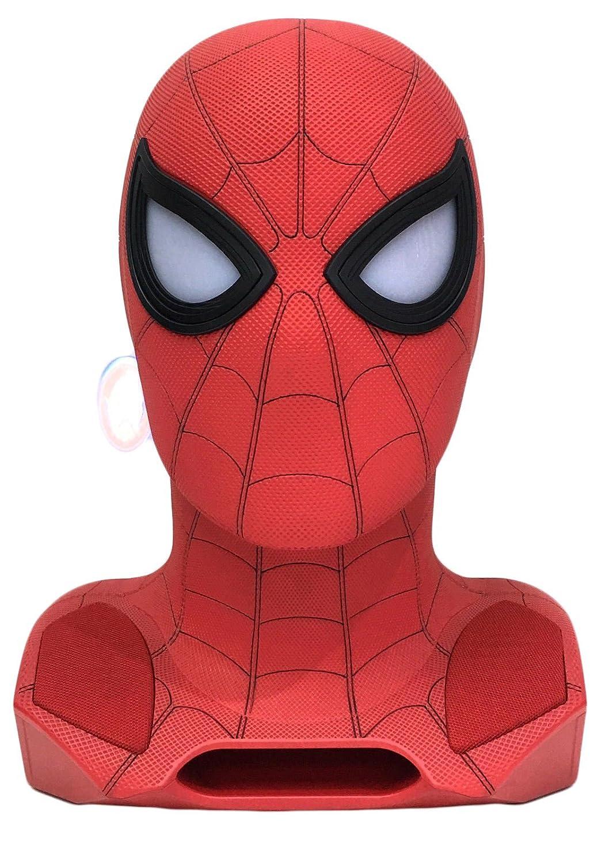 Marvel 761623 Altavoz Bluetooth Spiderman con proyector Rojo/Negro/Dorado Camino