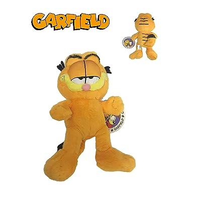 """GRFIELD Garfield - Peluche Gato Garfield 9""""/24cm Calidad Super Soft: Juguetes y juegos"""