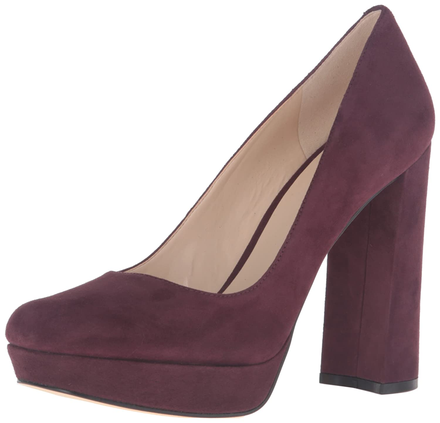 114e0b73b5633 Amazon.com | Nine West Women's Delay Suede Platform Pump | Pumps