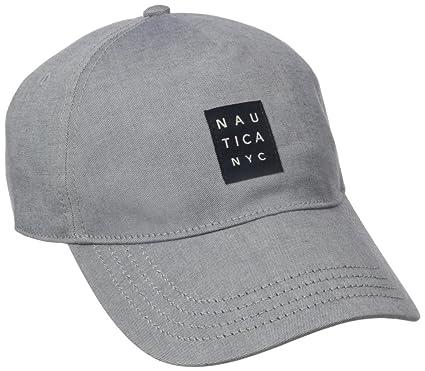 Nautica hombres de algodón elástico de nueva york gorra de béisbol ...