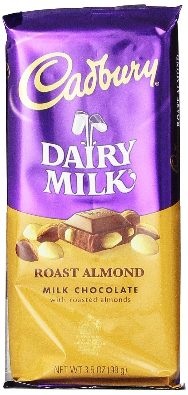 Amazon.com : CADBURY DAIRY MILK Roast Almond Chocolate Candy Bar ...