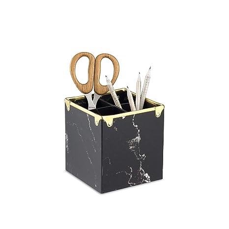 Amazon.com: Design Ideas Marbella - Escritorio, color negro ...