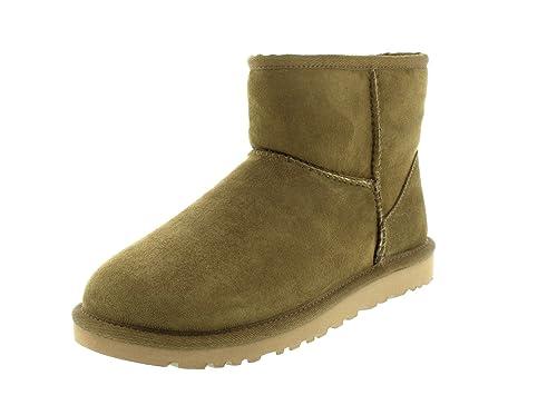 UGG Australia Classic Mini, Botines Planos para Mujer: Amazon.es: Zapatos y complementos