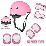 DaCool Kids Helmet Pad Set Elbow Knee Wrist Pads