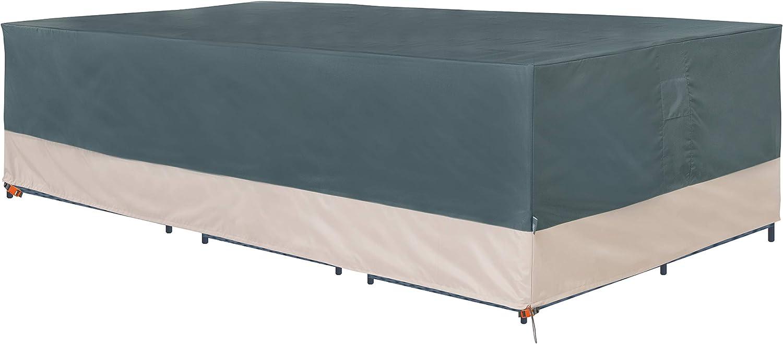 Modern Leisure 3038 Renaissance Ultralite Outdoor General Purpose Patio Furniture Cover, 140 L x 70 W x 35 H inch, Gray