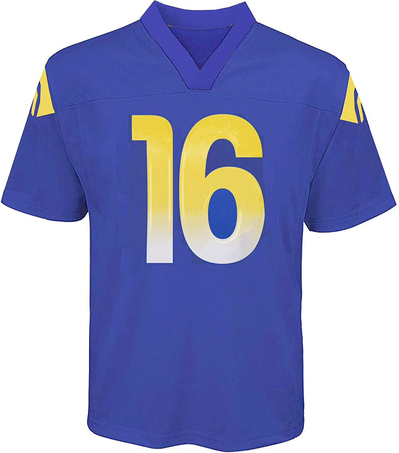 Outerstuff Jared Goff Los Angeles Rams NFL Boys Youth 8-20 Royal Blue Home Mid-Tier Jersey