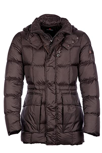 lowest price 09192 aa446 Peuterey Piumino Giubbotto Giubbino Lungo Uomo Gregor No Fur ...