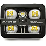 NCAA Michigan Wolverines 4 Golf Ball And Divot Tool Set