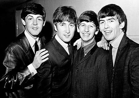 Beatles 39 John Lennon Paul Mccartney George Harrison Ringo Starr Great Rock Metal Album Cover Design Music Band Best Photo Picture Unique Print A4 Poster Amazon Co Uk Kitchen Home