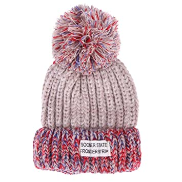 f21cb211b40 Amazon.com  Knitting Family Matching Hat Warm Beanie for Fall Winter Cute  Hairball Adult Kids Cap(04)  Baby
