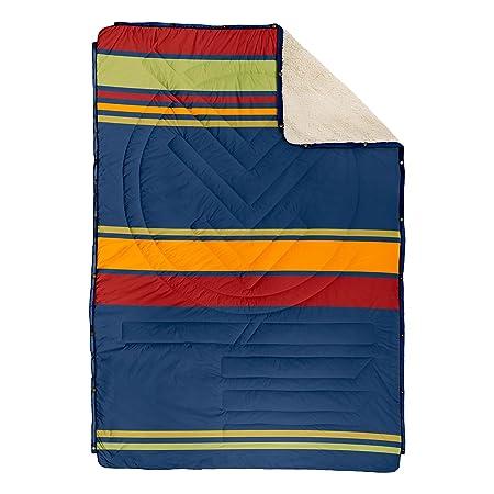 VOITED CloudTouch Outdoor Pillow Blanket – Versatile Insulated Water-Resistant Indoor Outdoor Blanket for Travel, Van Home