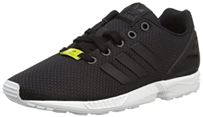 Adidas ZX Flux, Baskets Mixte Enfant, Noir Black/White, 31.5 EU