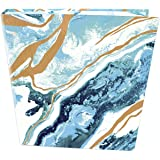 """bloom daily planners Binder (+) 3 Ring Binder (+) 1 Inch Ring (+) 10"""" x 11.5"""" - Geode"""