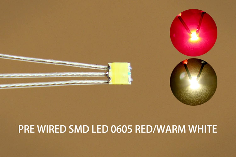 gelb kaltweiß SMD LED 0605 DUO Bi Color LEDs blau warmweiß grün rot