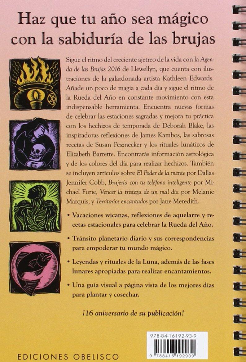 2016 Agenda de las Brujas Agendas Y Calendarios 2016: Amazon ...