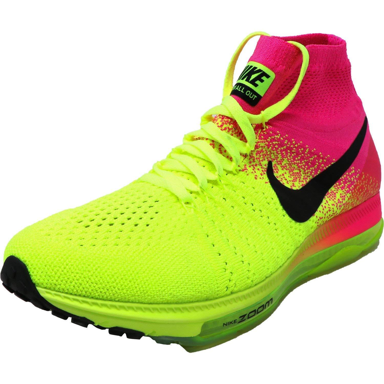 Nike Damen W Zoom All Out Flyknit oc Laufschuhe Schwarz