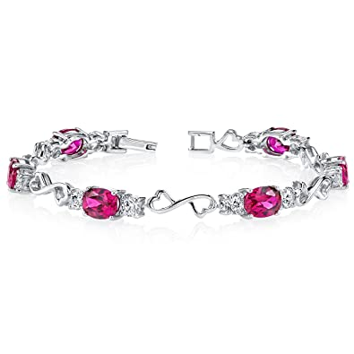 and classic ruby gold bracelet style diamond