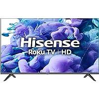 Hisense 32H41G- 32 inch Smart Full Array LED Roku TV with DTS TruSurround, 3HDMI (Canada Model) 2021 Black
