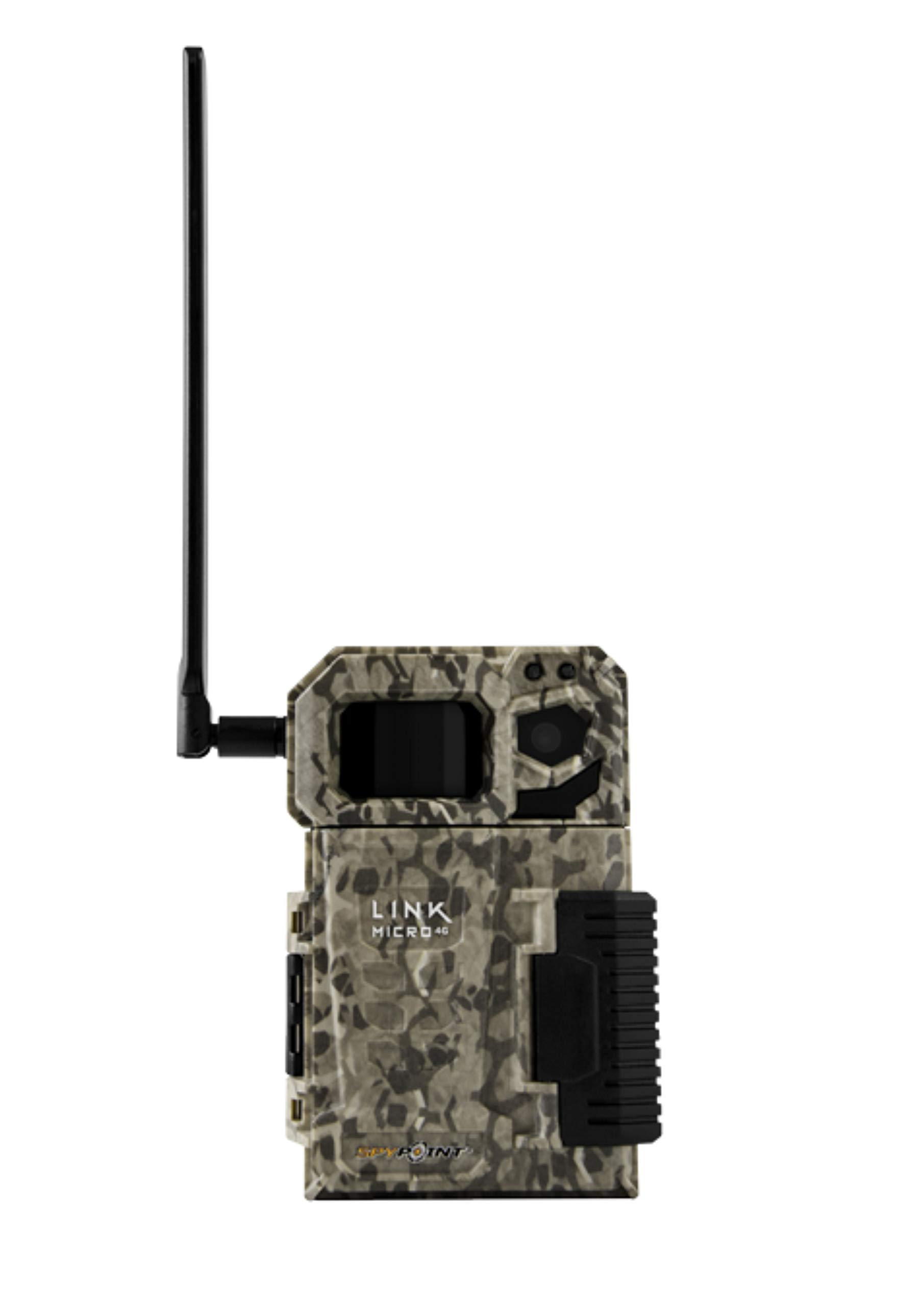 SPYPOINT Link Micro Nationwide Version (Smallest on The Market!) Wireless/Cellular Trail Camera, 4 Power LEDs, Fast 4G Photo Transmission w/Preactivated SIM, Fully Configurable via App by SPYPOINT