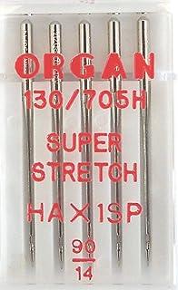 Nähmaschinennadeln Organ Jersey Stärke 60 System 130//705 H