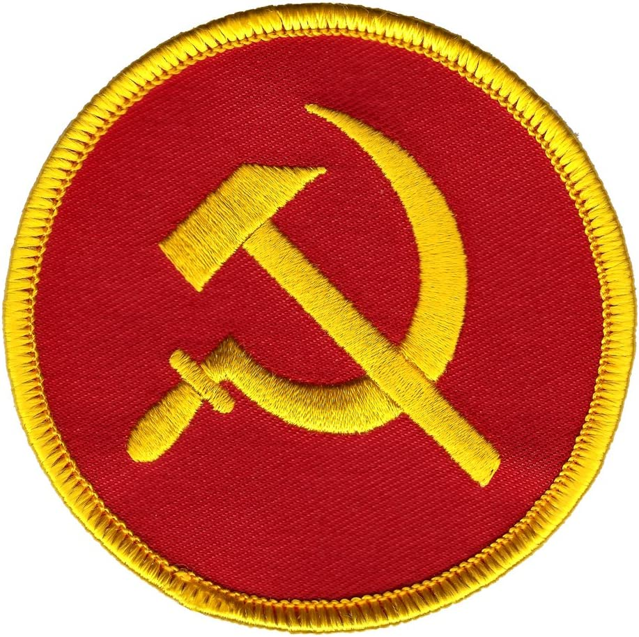 Soviet Union USSR Patch Embroidered Iron On Badge Applique Russian