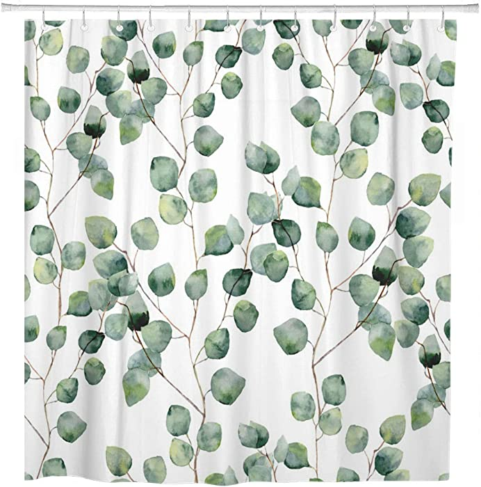 Top 10 Nature Pattern Shower Curtain