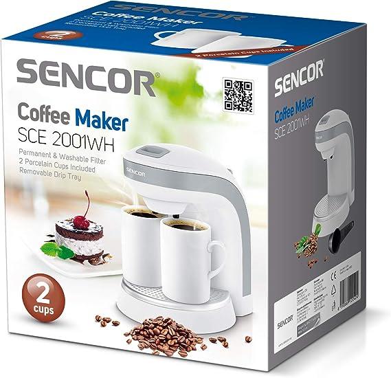 2001WT SENCOR SCX 001 Filtre /à caf/é permanent pour SCE 200x 2000BK