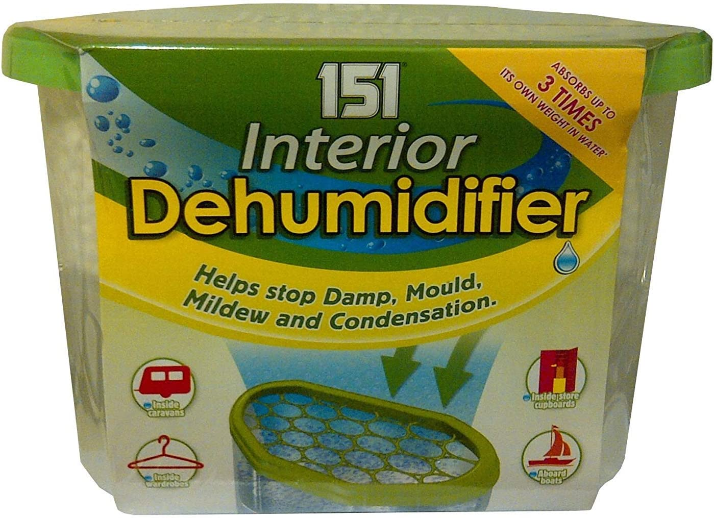2 X 18 x Interior DEHUMIDIFIER 151 Set of 18 Brand New De