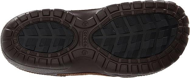 905cc3ba8 Crocs Unisex Yukon Sport Lined Clog Espresso Espresso Size 12 UK  Amazon.co. uk  Shoes   Bags