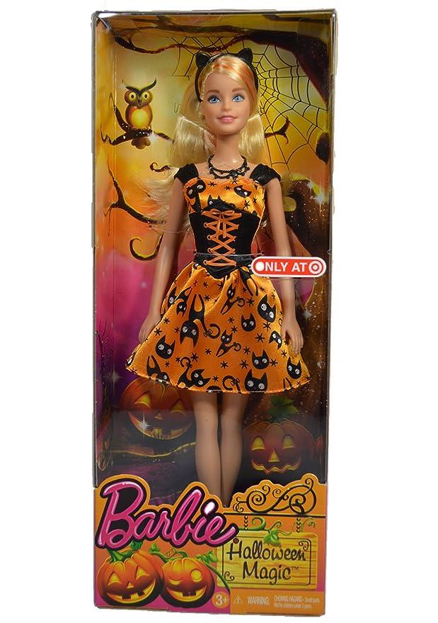 Amazon.com: Barbie Halloween Magic Target 2015 Doll - Cat: Toys & Games
