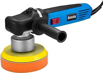 Anesty 6 Inch Variable-Speed Random Orbital Polisher 7 Amp Power Dual Action Polisher with Polishing Pad (Hook & Loop)