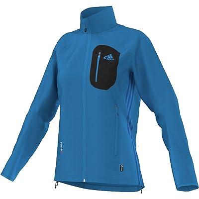 Adidas Outdoor Men's Terrex Cocona Fleece Jacket Solar Blue Sweatshirt SM at Amazon Men's Clothing store