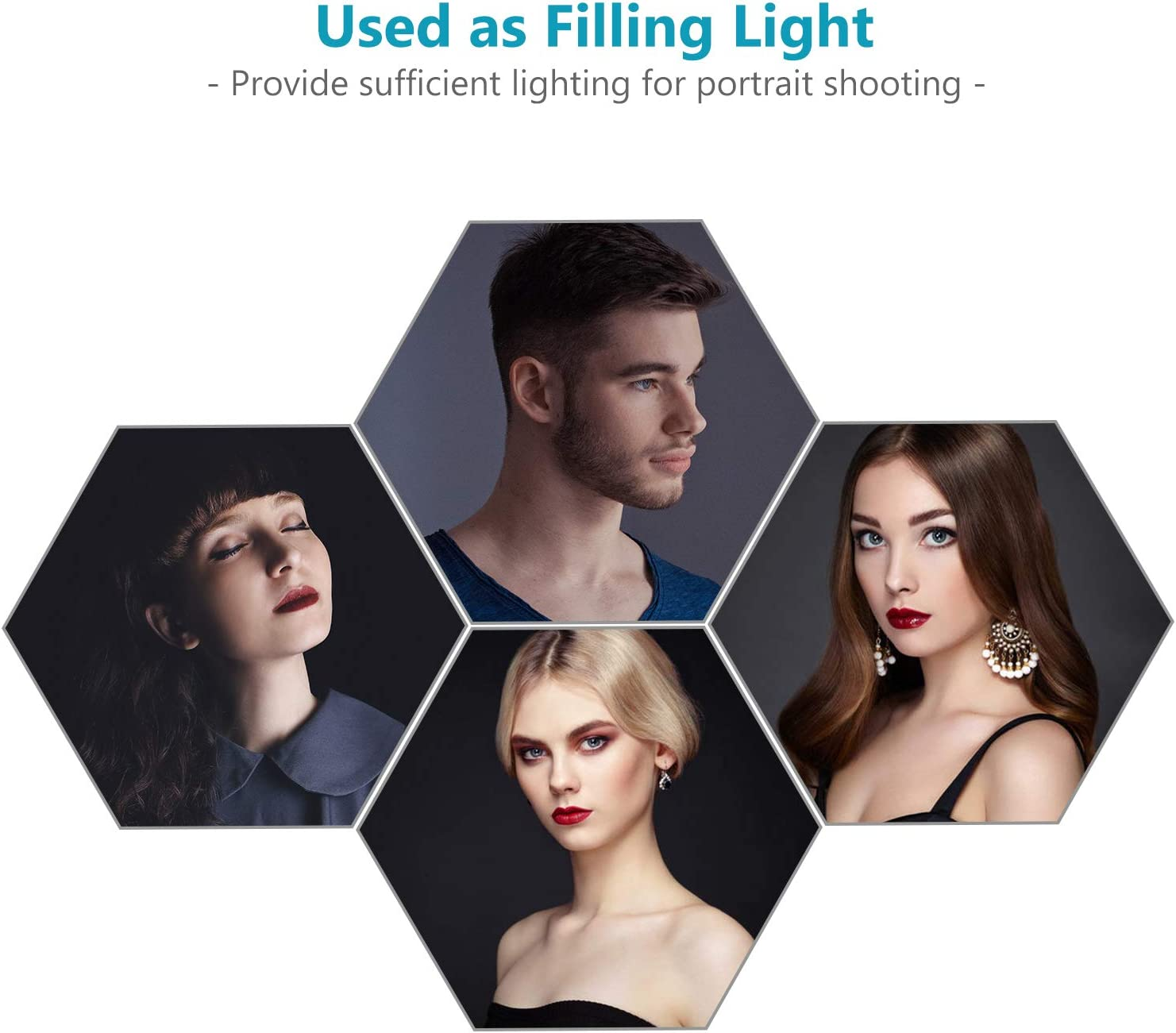Neewer Photo Studio 24 inches//60 centimeters Beauty Dish and Octagonal Softbox Combination with Bowens Speedring for Bowens,Perfect for Portrait,Product Photography and Video Shooting
