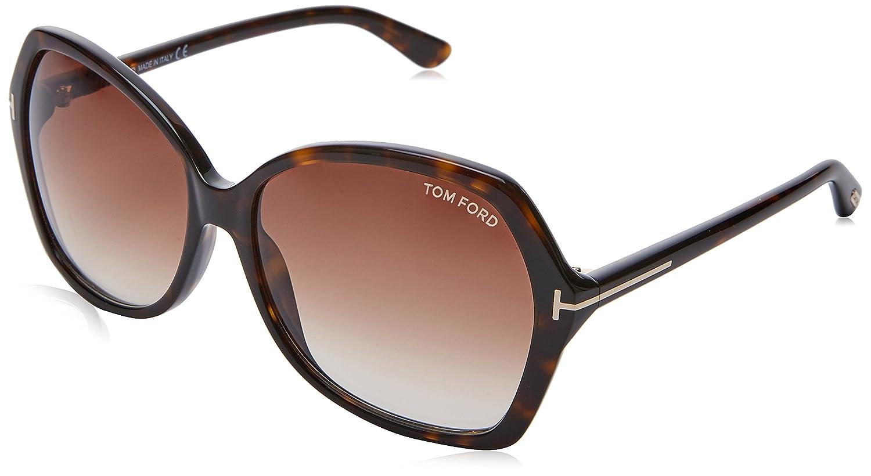 Tom Ford Sonnenbrille Carola (FT0328) Black 60 FT0328 140_01B FT0328OCCHIALEPANT140_01B-60