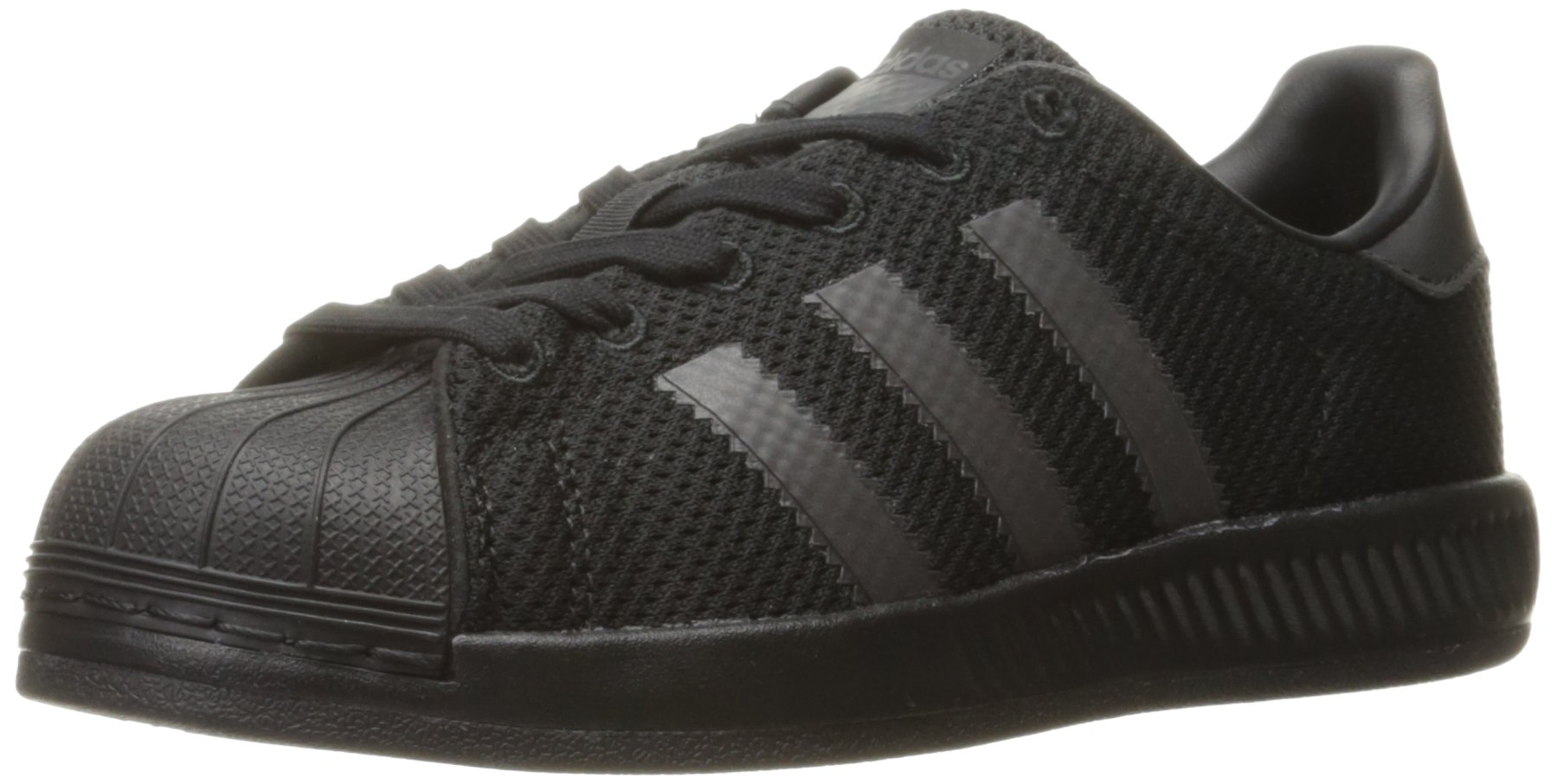 f30afa25af183 Galleon - Adidas Originals Boys  Superstar Bounce J Running Shoe Core  Blue Black