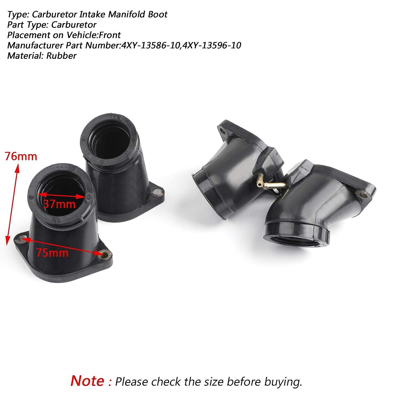Bruce /& Shark Throttle Body Intake Manifold Boot for Yamaha XVZ1300 XVZ13 02-13 XVZ1300TF