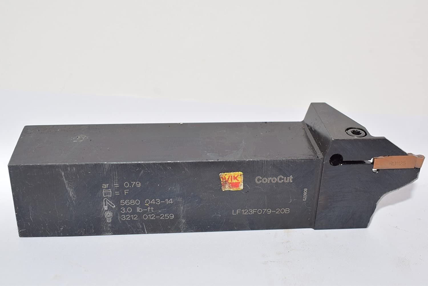 90 Degree Entering Angle Sandvik Coromant Solid Carbide Indexable Milling Tool 8 Flutes