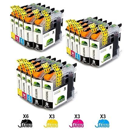 JARBO LC123XL Alta capacidad Cartuchos de tinta Reemplazo para ...