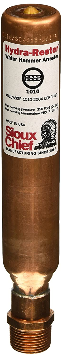 Soux Chief 653-B Hydra ester Water Hammer Arrester for Piping Systems Soux Chief Mfg.
