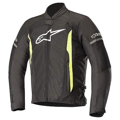 Alpinestars T-Faster Air Jacket (XXXX-LARGE) (BLACK/YELLOW): Automotive