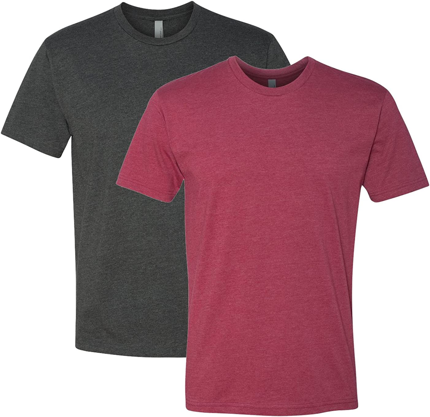 Next Level Mens T-Shirts (N6210) Pack of 2