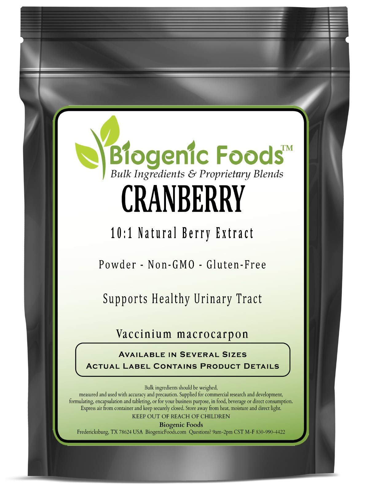 Cranberry - 10:1 Natural Berry Powder Extract (Vaccinium macrocarpon), 2 kg