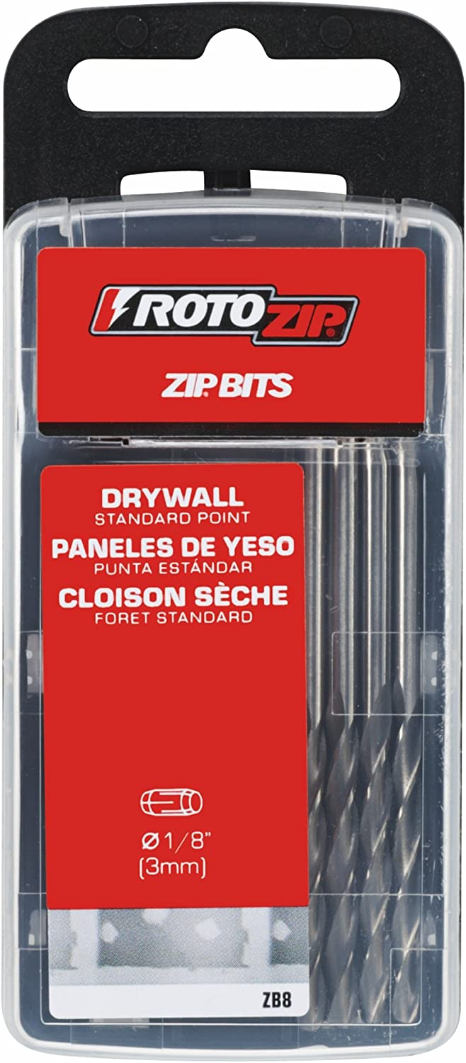 RotoZip ZB8 Standard Point Bit 8-Pack