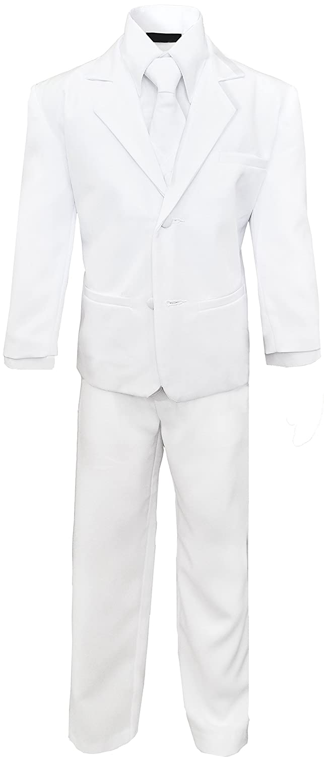 Boys Classic White Suit Complete outfit set Size 7