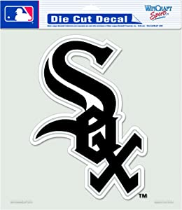 MLB Chicago White Sox 8-by-8 Inch Diecut Colored Decal