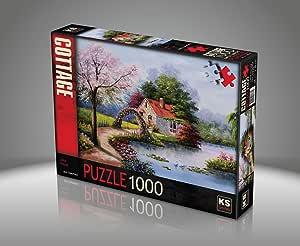 Ks Games Lake House Puzzle 1000 Parça - 11324