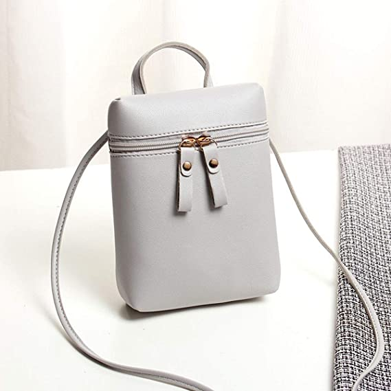 cb65529eca25 Amazon.com: Meiliwanju Small Crossbody Bag Lightweight Roomy Cell ...