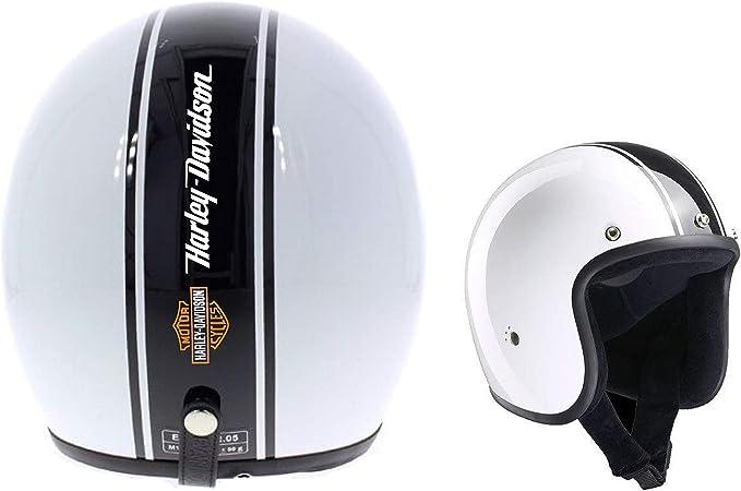 1 X Motorrad Aufkleber Für Motorrad Helm Harley Davidson Fascia Oro Auto