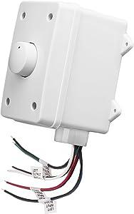 OSD Audio 100W Outdoor Volume Control – Weather Resistant, Rotary Knob - OVC100